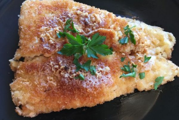 Fish Milanese by cooking meals for one