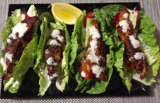 Paleo Fish Tacos by cooking meals forgone