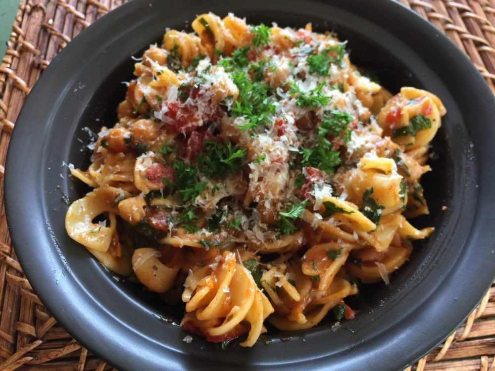 Moroccan pasta by cooking meals for one