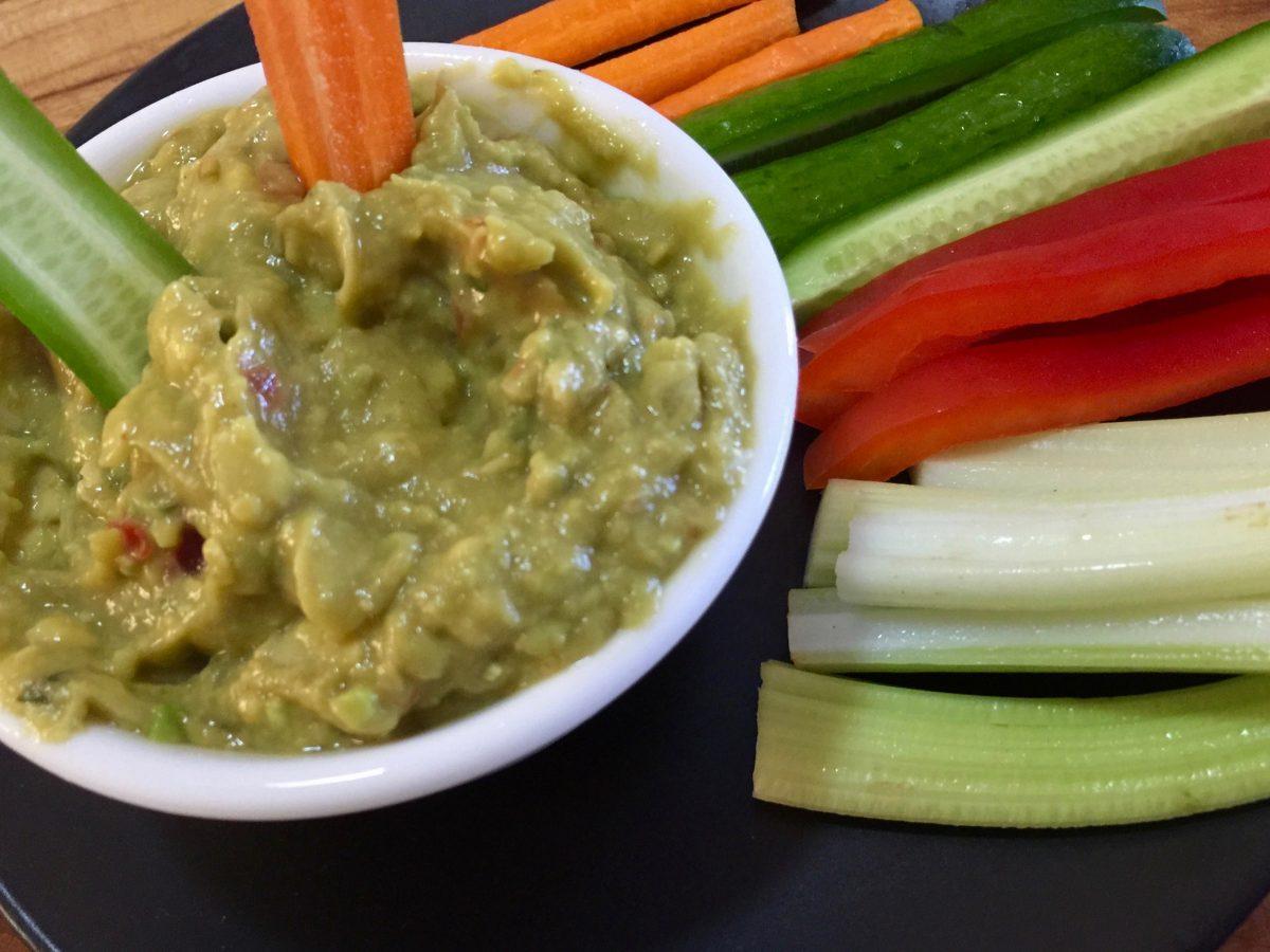 Guacamole by cookingmealsforone.com