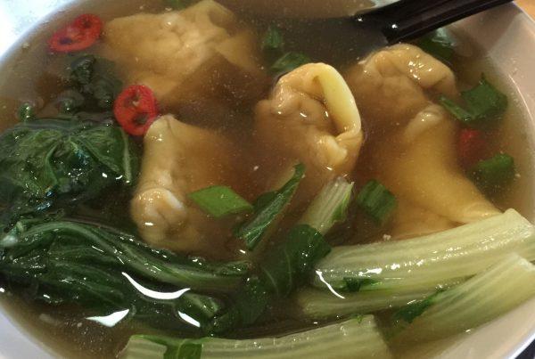 Wonton Soup 2 by cookingmealsforone.com
